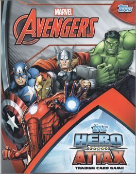 Avengers Hero Attax - Card Game - Topps - 2015 - Allemagne