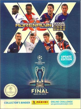 UPDATE UEFA Champions League 2014-2015 Adrenalyn XL 1 partie