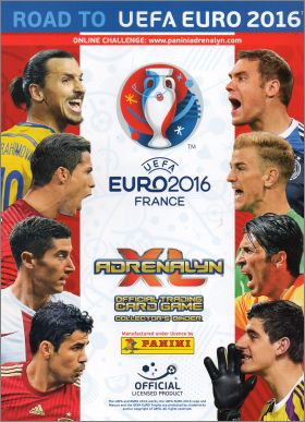 Road to UEFA Euro 2016 Adrenalyn XL Trading Card Game