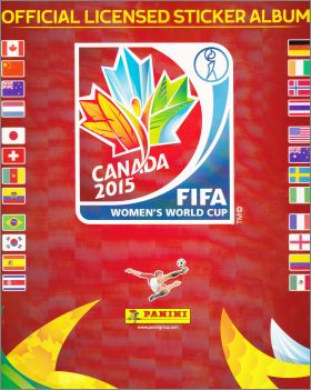 FIFA Women's World Cup - Canada 2015 - Panini