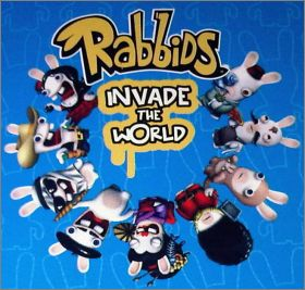 Rayman - Raving Rabbids Invade the World (Cards) Angleterre