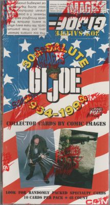 GI Joe Collector cards - Comic Images - 30th salute1964-1994