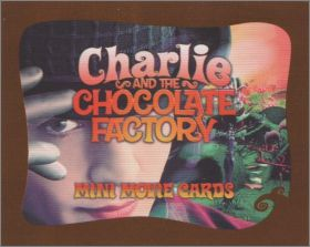 Charlie and the Chocolate Factory -Mini Movie Cards Inc 2005