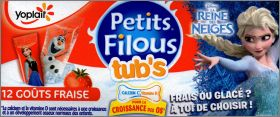 La Reine des Neiges - Petits Filous Yoplait - France - 2015