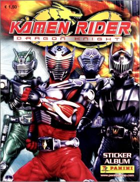 Kamen Rider - Dragon Knight  - Sticker Album Panini - 2009