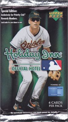 Baseball Card -  Holiday Inn - Upper Deck - 2007