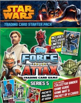 Star Wars Force Attax series 5 - Trading cards - Anglais