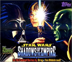 Star Wars : Shadows of the Empire - Topps Angleterre - 1996