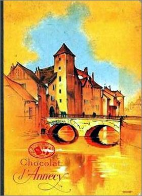 La France - Chocolat d'Annecy - Album d'images - 1934
