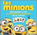Minions - La méchante collection 34 cartes Carrefour