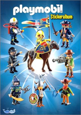 Playmobil - Sticker Album Blue Ocean - Allemagne - 2015