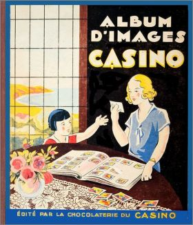 Album d'Images Casino - la chocolaterie du Casino - 1936