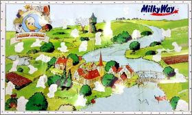 Alfred J. kwak - Milky Way - Poster stickers - Belgique 1991