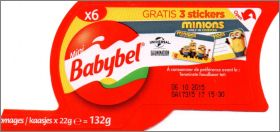 Les Minions only in cinemas - Mini Babybel - 2015 - Belgique