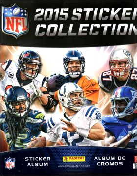 NFL 2015 - Sticker Collection - Panini - USA / Canada