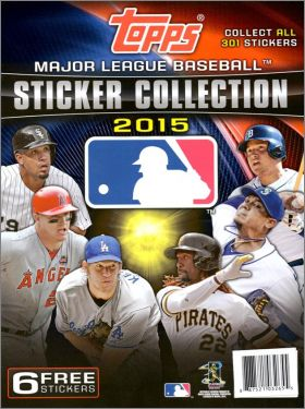 Major League Baseball Sticker Collection 2015 -  Topps - USA