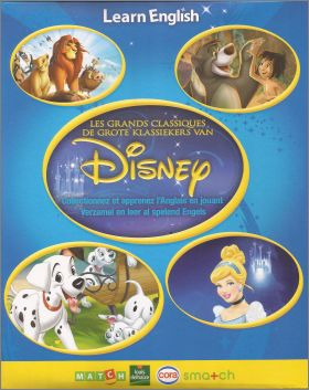 Learn English with Disney - Cartes - Cora - Belgique - 2015