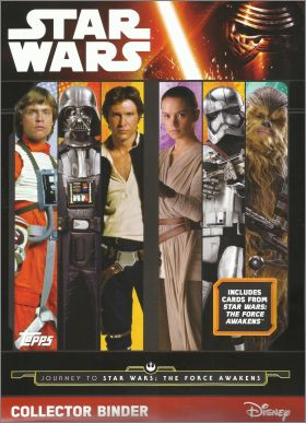 Journey to Star Wars : The Force Awakens Tradings Topps