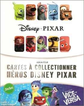 les h ros disney pixar cartes auchan france 2015 animations. Black Bedroom Furniture Sets. Home Design Ideas
