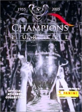 Champions of Europe 1955-2005 - Panini Angleterre / Pays-Bas