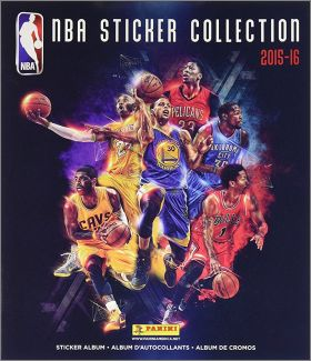 NBA Basketball - Sticker Collection 2015-16 Album Panini US