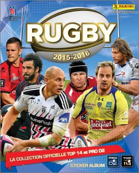 Rugby 2015 - 2016 - Sticker Album - Panini - France - 2015
