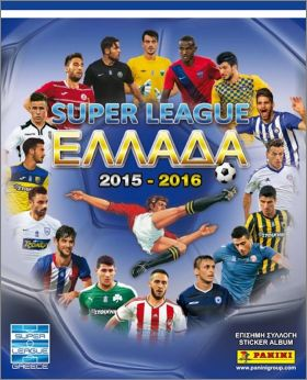 Super league 2015 - 2016 - Panini - Grèce
