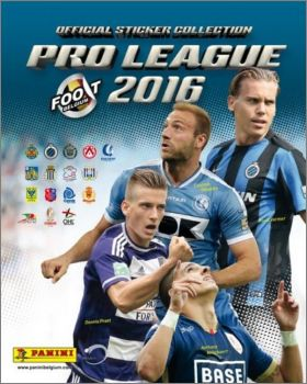 Football Belgique - Pro League 2016 - Panini
