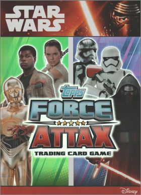 Star Wars Disney  Force Attax - Trading Card Game Topps 2015