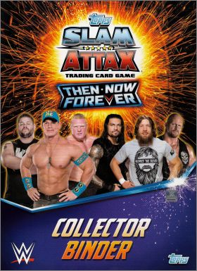 WWE - Slam Attax - Then Now Forever - TCG - Anglais