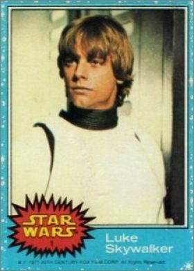 Star Wars - Trading Cards - Série 1 - 1977 - Topps