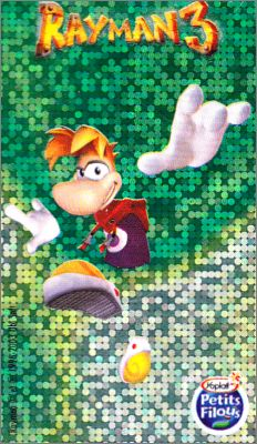 Rayman 3 Magic Stickers - Petits Filous - France - 2003