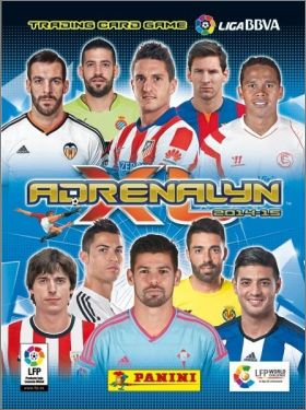 Adrenalyn XL  2014-15 Liga BBVA Trading card game - Espagne