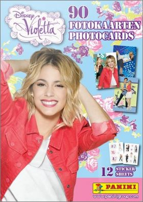 Violetta Disney - Saison 3 - Photocards - Panini - 2015
