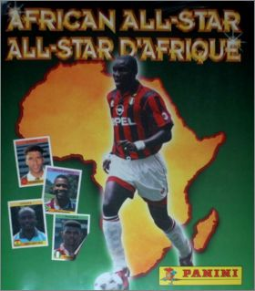 African All-Star / All-Star d'Afrique - Maroc 1997 - Panini