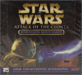 Star Wars - Attack of the clones - Cards Widevision - Topps