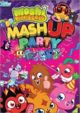 Moshi Monsters Mashu Up Party - Trading Card - Topps - 2014
