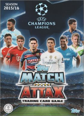 Match Attax UEFA League 2015/16 - Cards (2 sur 2) - Anglais