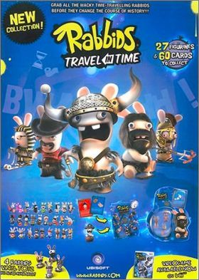 Rayman - Raving Rabbids - Travel in time (Cards)