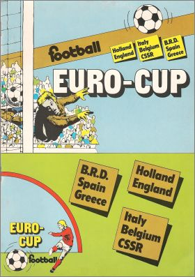 Euro-cup Football - Monty Gum - Hollandaise - 1980