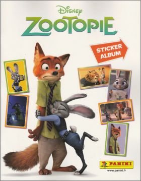Zootopie - Disney - Sticker Album - Panini - 2016