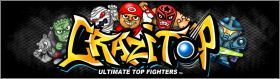 Crazitop Ultimate Top Fighters - Cartes - Série 2 - 2012