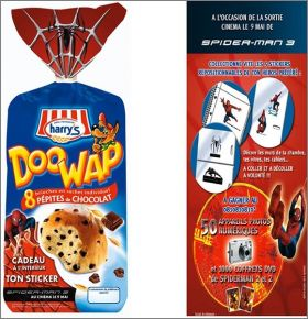 Spider-Man 3 - 5 stickers - DooWap - 2006 - France