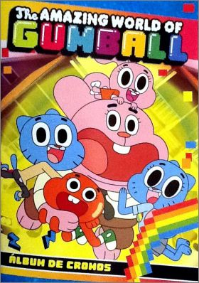 The amazing world of Gumball - Album Diramix- Espagne - 2016