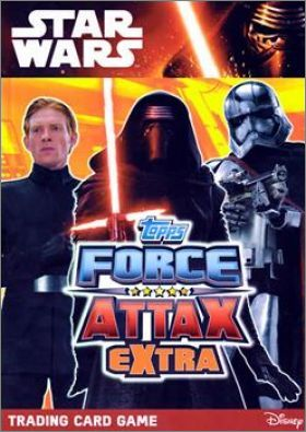Star Wars Disney  Force Attax Extra - Trading Card - Anglais
