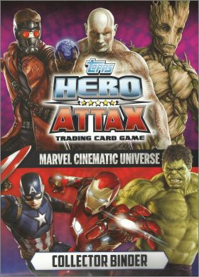 Hero Attax Marvel Cinematic Universe - Topps 2016 Angleterre
