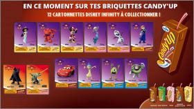 Disney Infinity 3.0 Disney - 12 cartonnettes Candy'up - 2016
