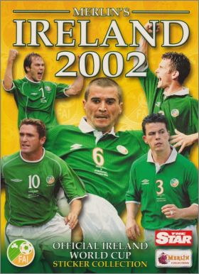 Irland 2002 - Official Word Cup Sticker Collection - Merlin