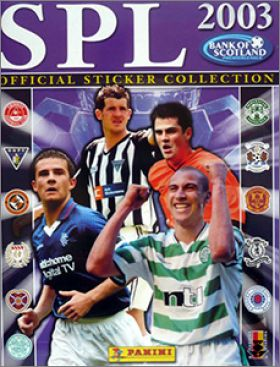 Scottish Premier League 2002-2003 - Panini