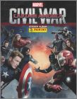 Captain America, Civil War - Sticker Album - Panini - 2016